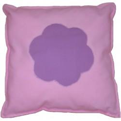 Malý polštář s motivem Kytka fialová