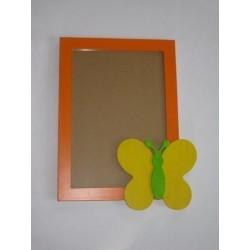 Velký rámeček Louka oranžový