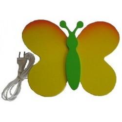 Nástěnná lampička Motýl-Louka