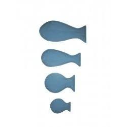 Dekorace námořník - rybičky světlé set