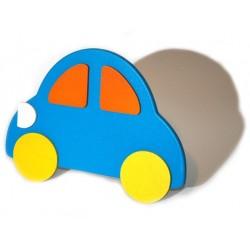 Lampička nástěnná modré Auto