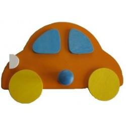 Věšák Auto oranžová