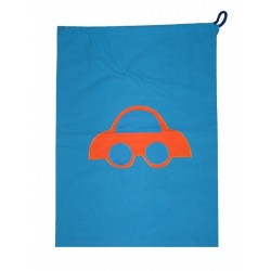 Pytlík Auto modré