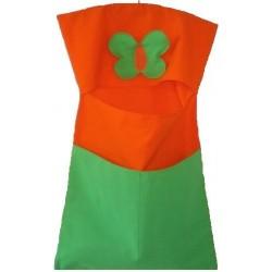 Kapsář do škol(k)y Motýlek zelený