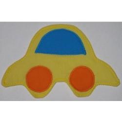 Magnet  Autíčko žluté