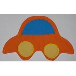 Magnet  Autíčko oranžové